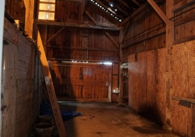 Barn Interior View 1