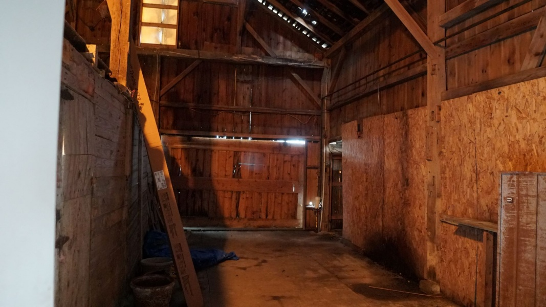 Barn Interior View 1