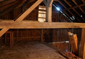 Barn Interior View 2
