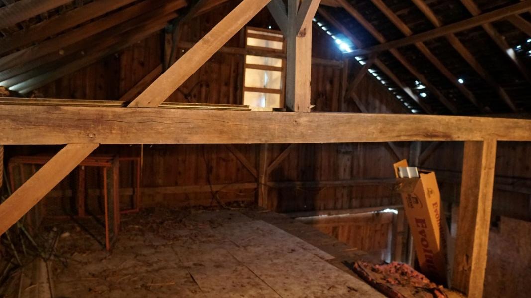 Barn Interior View 2