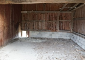Barn Interior View 4