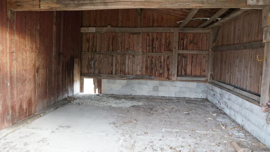 Barn Interior View 4