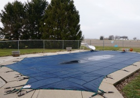 In-ground Pool shown with Cover
