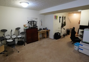 Basement Open Rec / Entertainment Room