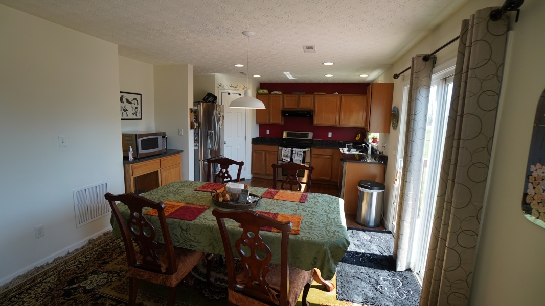 Dining Area  to Kitchen View - Access to Deck
