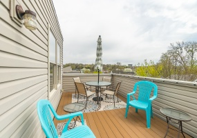 Rooftop Deck is an exciting and unexpected feature