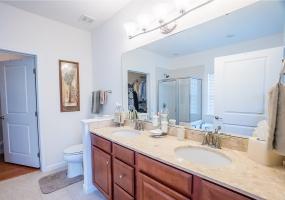 Double Vanity, Soaking Tub, Separate Shower
