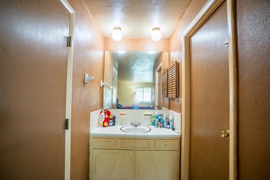 Split Bathroom with Walk-In Closet